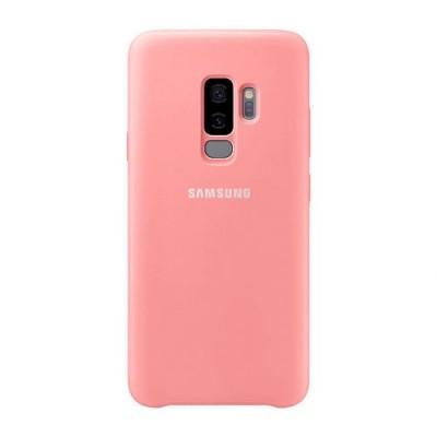 Premium Silicone Case Pink Galaxy S9