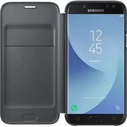 Case Flip Cover Black για Samsung Galaxy J530 (2017)