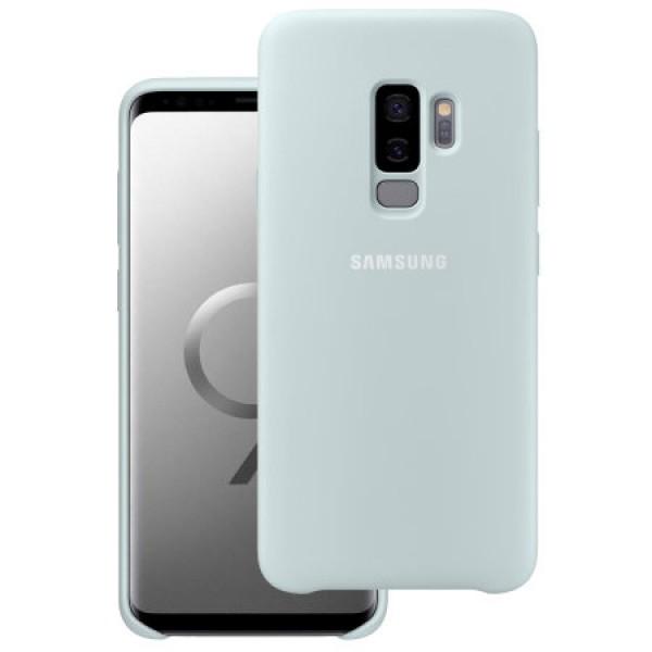 Premium Silicone Case White Galaxy  S9 Plus