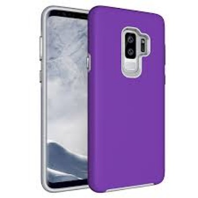 Premium Silicone Case Purple Galaxy S9 Plus