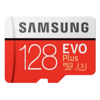 Samsung Evo Plus microSDXC 128GB U3 with Adapter MB-MC128GA/EU